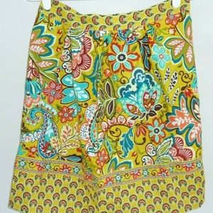 Vera Bradley PROVENCAL Yellow What's Cooking APRON